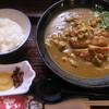 釜盛 - 料理写真:カツカレーうどん