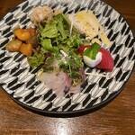 Ca'del Muro - 前菜5種盛り