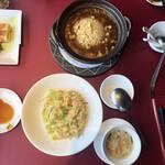 Haihaitenzankaku - あんかけ炒飯&蟹肉入りレタス炒飯