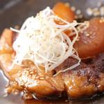 てんがらもん - 本場薩摩黒豚の角煮です