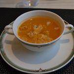 13069254 - サーロイングリルセットのスープ