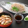 和楽心 - 料理写真:ランチメニュー「うな丼と冷そば」