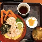 北海道海鮮 にほんいち - かにまみれ丼