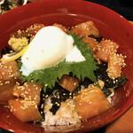 北海道海鮮 にほんいち - まぐろ漬け丼