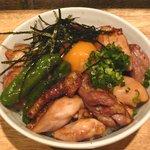 マルチョー - マルチョー丼(タレ)