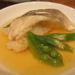 1307274 - 魚はふっくらとした舌触りに、あんが最高に美味しかったです。