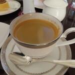 山のホテル ラウンジ・バー - ホットコーヒー