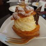 山のホテル ラウンジ・バー - オリジナルシュークリーム