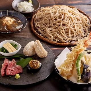 《当店自慢のお蕎麦付》会食コース(昼・夜ございます)