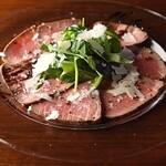 マリコ・グラン・クリュ - 料理写真:自家製ローストビーフのカルパッチョ