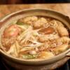 角丸 - 料理写真:みそ煮込 梅(玉子・かしわ入り)