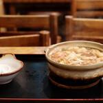 角丸 - みそ煮込 梅(玉子・かしわ入り)