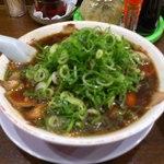 新福菜館  - ネギ多め