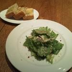 Luce - サラダとフォカッチャ