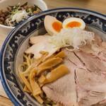 秋葉原つけ麺 油そば 楽 - ♦︎特性油そばセット ¥1,150