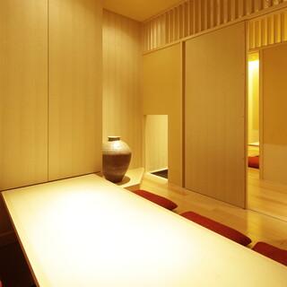 《掘りごたつの完全個室》4名~最大8名まで可!上質な個室空間
