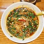 らーめん侘助 - 担々麺