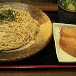 信州そば処 そば茶屋 - ざるそばといなり寿司