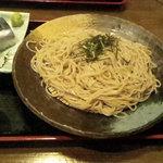 信州そば処 そば茶屋 - ざるそばとさんま寿司