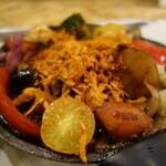 野菜を食べるカレーcamp - 一日ザクザク×野菜1140円