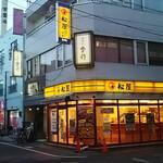 季作 - 東武スカイツリーライン五反野駅出口から通りを左に歩いて信号機付交差点を越えると見えてきます(^_^)v