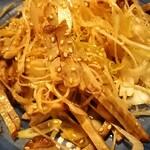 季作 - ボリューム満点のチャーシューに辛味葱がたっぷりと( ゜o゜)‼