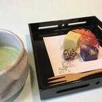 四季茶寮えど - 【甘味セット】季節により変わる和菓子とお好みのお飲み物(コーヒー・紅茶・おうす)をセットにいたしました。