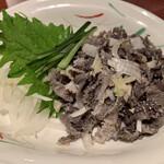 炭火焼肉 くろべこ - センマイ刺