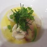 レストラン アキュイ - 鱈と白子のポトフ