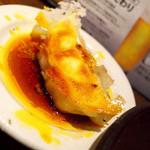 浪花ひとくち餃子 餃々 - 餃子三種盛り定食の餃子