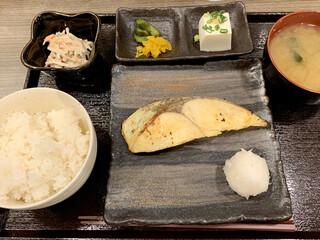 さいまや - 銀ヒラス西京漬定食