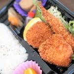いっしょう - 料理写真:ミックスフライ弁当550円