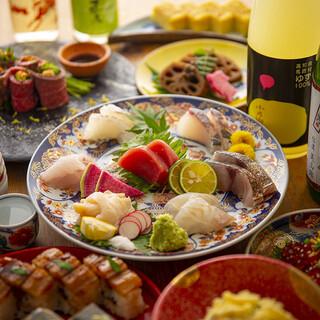 日本酒と海鮮とおばんざいをメインとした和食の居酒屋