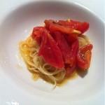 13075409 - 高知県深谷のフルーツトマトのカッペリーニ