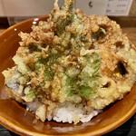 ぼっち - Aランチセット@1,180円(税込)の天丼