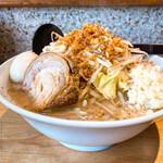 アヒル家 - 料理写真:味玉豚野菜 野菜増し