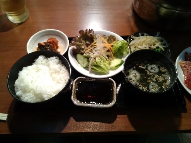 ネギタン ホルモン寺山の料理の写真