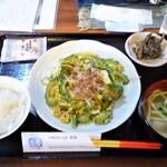 Okinawadainingunagomi - ゴーヤチャンプルー定食