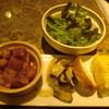 3de8 - 料理写真:前菜3種
