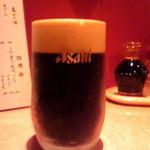 慶楽 - 黒生ビール♪