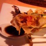 慶楽 - バルサミコ酢につけて・・・。