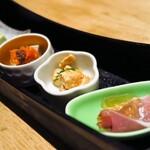 焼き鳥 瀧口 - 5月の前菜4種♪