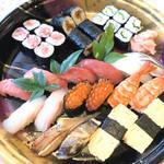 ほどがや千成鮨 - テイクアウトの寿司盛り
