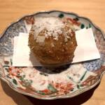 赤坂 あきちゃん - ○里芋とオクラのコロッケ様