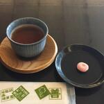 鍵善良房 - お茶と干菓子