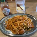 スパゲッティとカレーの店ハッシュ - 料理写真: