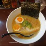 麺やOK - 煮干し 塩 卵トッピング880円,麺やOK(愛知県安城市)食彩品館.jp撮影