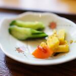 蕎麦カフェ 森の空 kazu - お新香