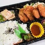 にぃーず - 料理写真:豚ヒレカツ弁当(680円!)