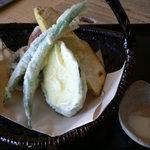 そば家 和味 - 野菜の天ぷら